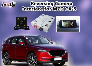 China Mazda Multimedia Reverse Camera Interface With Rear System , 800*480 Resolution factory
