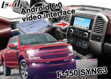 Ford F-150 SYNC 3 Automotive Gps Navigation With Android 5.1 WIFI BT Map Google apps