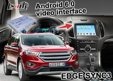 China Ford EDGE SYNC 3 Android Box Gps WIFI BT Map Google apps video interface distributor