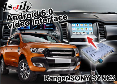 China  Ranger SYNC 3 Car Navigation Box With Android 5.1 4.4 WIFI BT Map Google apps factory