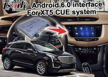 China GPS Android navigation box video interface for Cadillac XT5 video distributor