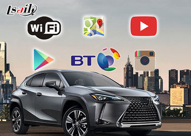 China Lexus 2019 UX / ES Android Car Navigation Box Multimedia Video Interface distributor