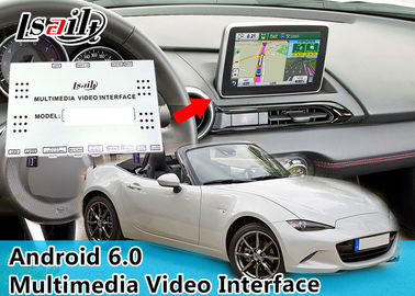 China Mazda MX-5 Android Car Interface Black Box 16GB EMMC 2GB RAM With WIFI BT distributor