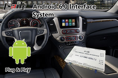China Android 6.0 Video Interface Navigation System For GMC Yukon Denal 2014-2018 Waze factory