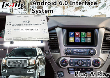 China GMC Yukon Denal Android Navigation Box for 2014-2018 year with Online map(Google/waze) distributor