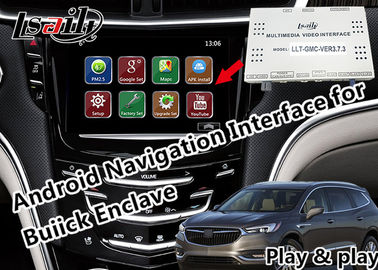 China GPS Android Auto Interface for 2014-2018 Enclave Envision Encore Regal support CarPlay Miracast yandex Youtube factory