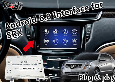 China HD 1080P Car Video Interface Support Touch Screen Fast Response For Cadillac factory