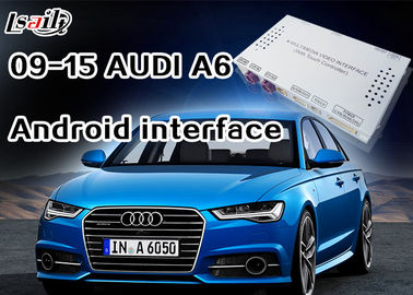 China Android Navigation Multimedia System for 3G MMI Audi A6L, A7 , Q5 with Built-in WIFI , On-line Map factory