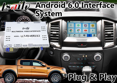 Android 6.0 GPS Navigation Video Interface for  Ranger / Explorer SYNC 3 System WIFI BT Mirror link Cast Screen