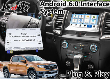 China Android 6.0 Auto Interface Gps Navigation for  Ranger / Everest SYNC 3 System LVDS Digital Display Bluetooth OBD distributor