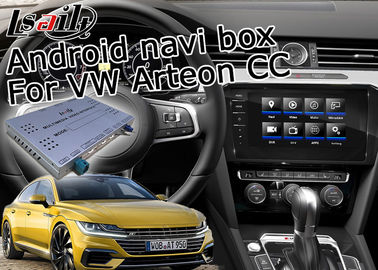 China Volkswagen Arteon Car Video Interface Android GPS Navigation Voice Activate With Plug / Play distributor