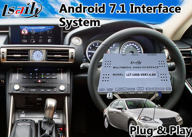 China Lsailt Android Car Interface for Lexus IS250 , Gps Navigation Box for IS 250 Mouse Control 2013-2016 Model 32GB ROM T7 factory