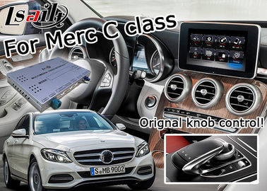 China Mercedes benz C class WIFI car navigation box , android car navigation system DC9-15V factory