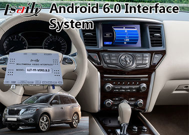 China Android 6.0 GPS Interface Multimedia Navigation for 2014-2018 Nissan Pathfinder distributor