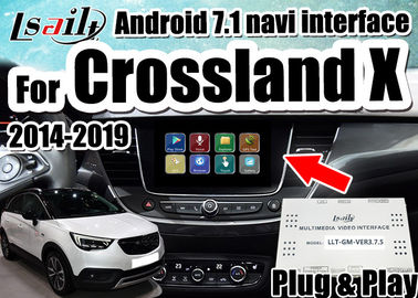 China Android 7.1 Car Video Interface for 2014-2018 Opel Crossland X Insignia support mirrorlink smartphone , double windows distributor