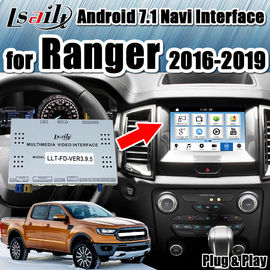China Multimedia Video Interface / Android Auto Interface Work on Ford Ranger Sync3 System built-in wifi modem by Lsailt distributor