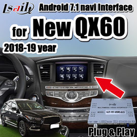 China Plug&Play Android 7.1 car video interface for New QX60 QX80 2018-2019 year support carplay , ADAS, youtube distributor