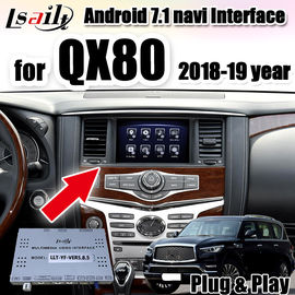 China Android Auto Interface car radio interface for Infinite QX80 2018-2019 year with 3G RAM, 32G ROM , android auto factory