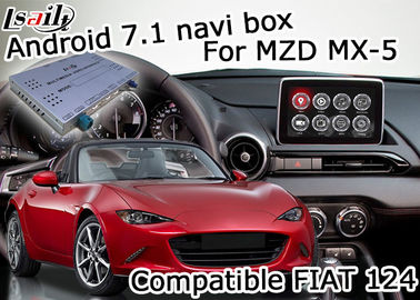 China Mazda MX-5 MX5 FIAT 124 Android Navigation Box with Mazda origin knob control video interface factory