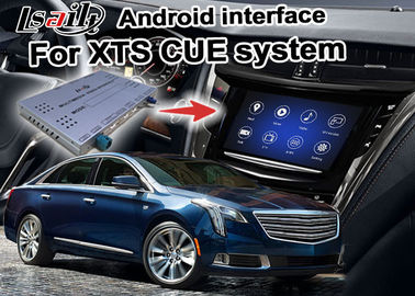 China Multimedia Car Android navigation box video interface for Cadillac XTS video factory