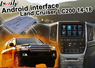 China Toyota Land Cruiser LC200 Android Navigation Video Interface Upgrade carplay android auto distributor