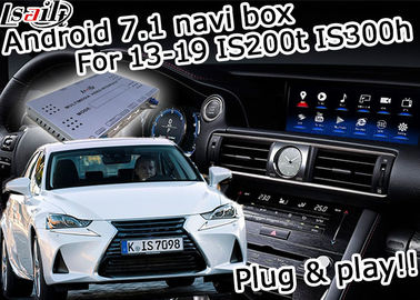 China GPS Android navigation box Lexus IS200t IS300h knob mouse control waze youtube Google play factory