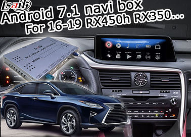 China RX350 RX450h Lexus Video Interface 16-19 Version 2/3GB RAM Android Navigation Box factory