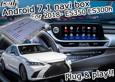 China Lexus ES 2018 Multimedia Video Interface Android 7.1 Car Navigation Box Optional ES350 ES300h factory