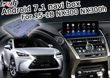 China Lexus NX200t NX300h GPS Navigation Box knob touchpad control waze youtube Google play factory