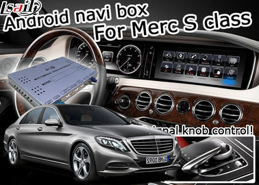 China Car navigation box interface for Mercedes benz S class W222 Navigation Video Interface carplay factory
