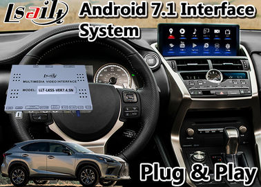 China ANDROID 7.1 VIDEO INTERFACE GPS NAVIGATION SYSTEM FOR LEXUS NX300H 2017-2020 WITH TOUCHPAD CONTROL factory