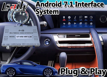 China GPS Navigation Box Android Car Video Interface For Lexus LC500 LC 500h 2017-2020 factory