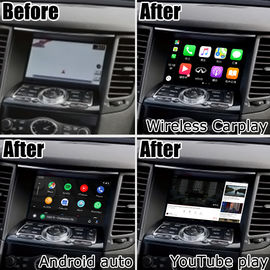 China 1080P Car Video Interface , Android Navigation Device Infiniti FX35 FX50 QX70 2009-2017 factory
