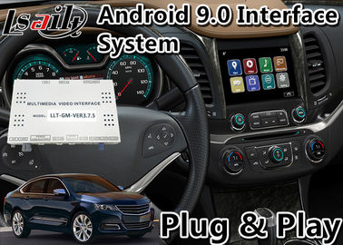 China Chevrolet Car Video Interface , Android 9.0 GPS Navigation For Impala / Suburban Waze Spotify factory