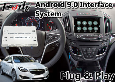 China Android 9.0 Auto Navigation Interface for 2013-2016 Opel Insignia Intellilink System Google Map factory