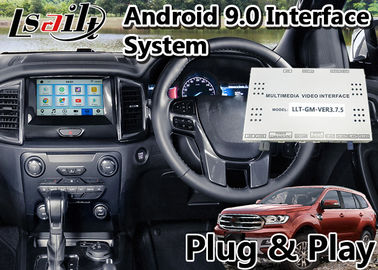 China Ford Everest Android Auto Interface for SYNC 3 System Built in Mirrorlink WIFI Bluetooth and GPS Navigation factory