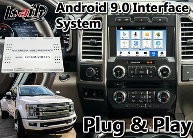China Android 9.0 Auto Interface GPS Navigation Box for 2016-2020 Ford F-450 SYNC 3 System factory