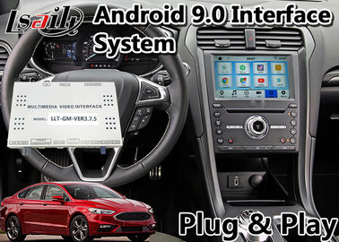 China Lsailt Android 9.0 Car Video Interface for Ford Fusion sync3 system support front and rear camera factory