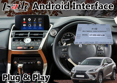 China Lsailt Lexus Video Interface For Nx Nx300 NX200T With Touchpad Gps Navigation Box android 9.0 distributor