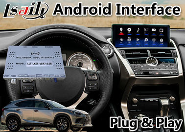 China LSAILT ANDROID 9.0 VIDEO INTERFACE GPS NAVIGATION SYSTEM FOR LEXUS NX300H 2017-2020 WITH TOUCHPAD CONTROL factory