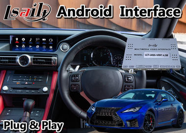 China Car GPS Navigation Video Interface Android Lexus RCF RC300 Plug And Play Installation factory