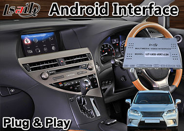 China Lsailt Android 9.0 Car GPS Navigation Interface for Lexus RX350 Mouse Version 2013-2015 model Wireless Carplay RX 350 factory