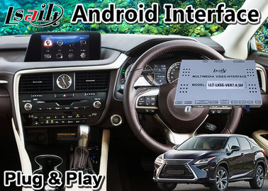 China Android 9.0 Car Navigation Interface for Lexus RX200t RX 8 Inch Screen 2015-2018 , Google / waze factory