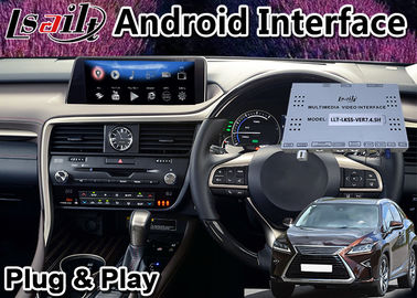 China Lsailt Android 9.0 Video Interface for Lexus RX450 2016-2019 Mouse Control Car GPS Navigation Box RX 450H factory