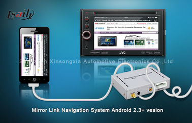 China Car DVD JVC Mirror Link Box / GPS Navigation Boxes For Pioneer with Bluetooth distributor