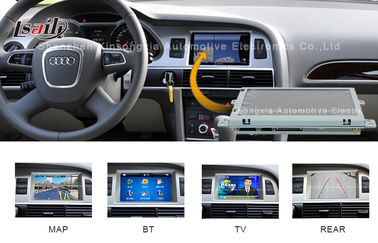 China 800MHZ Car Multimedia Navigation System  for AUDI Upgrade BT , DVD , Mirror Link factory