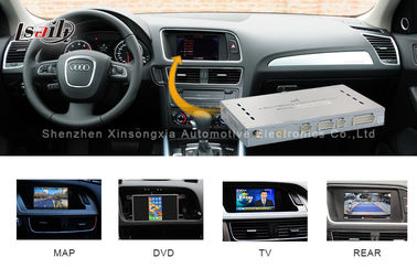 China Aotomobile Navigation Video Interface Audi A4L A5 Q5 Multimedia Interface System factory