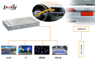 China Vehicle Navigation Audi Bluetooth Interface 2009 - 2015 AUDI A4L A5 Q5 Multimedia Interface factory