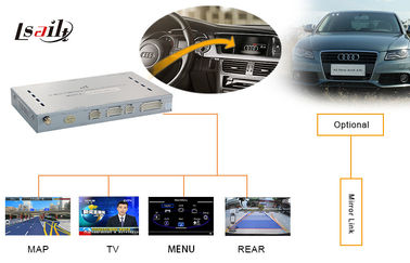 China Car Navigation Spare Parts Audi Video Interface A5 Q5 With Rear View Camera factory