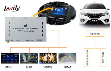 China Car Navigation Accessoreis Auto Video Decoder GPS Navi for Honda Right Hand factory